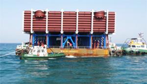 UAE 담수화설비 DRY-TOWING